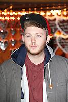 LONDON - NOVEMBER 22: James Arthur attended the opening night of 'Hyde Park Winter Wonderland' in Hyde Park, London, UK. November 22, 2012. (Photo by Richard Goldschmidt)