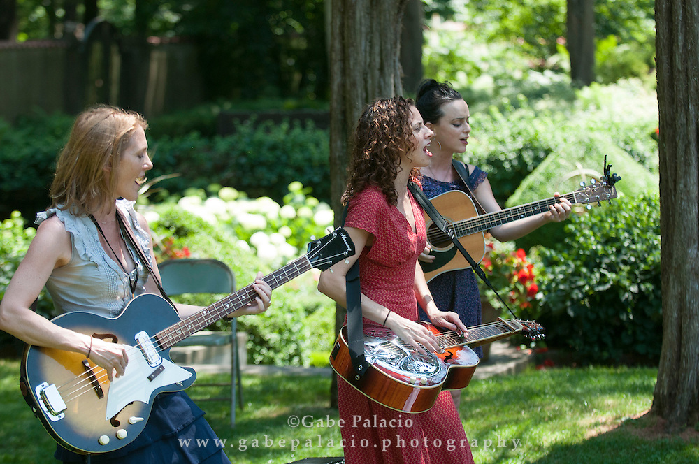 Red Molly  performing in the Sunken Garden set at the American Roots Music Festival at Caramoor in Katonah New York.photo by Gabe Palacio