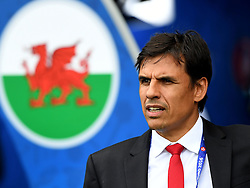 Wales Manager Chris Coleman sings the national anthem  - Mandatory by-line: Joe Meredith/JMP - 25/06/2016 - FOOTBALL - Parc des Princes - Paris, France - Wales v Northern Ireland - UEFA European Championship Round of 16