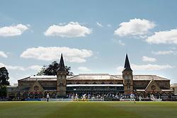 A general view of the Cheltenham Festival as Gloucestershire play Northamptonshire - Photo mandatory by-line: Dougie Allward/JMP - Mobile: 07966 386802 - 09/07/2015 - SPORT - Cricket - Cheltenham - Cheltenham College - LV=County Championship 2