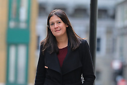 © Licensed to London News Pictures. 15/01/2020. London, UK. Labour Party leadership candidate Lisa Nandy arrives at RSA House to deliver a speech on the UK's place in a post-Brexit world. Photo credit: Rob Pinney/LNP