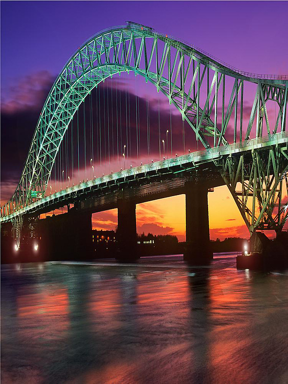 Runcorn & Widnes Bridge, Cheshire