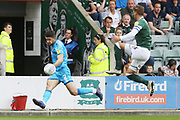 Sean Long and Gary Sawyer  during the EFL Sky Bet League 2 match between Plymouth Argyle and Cheltenham Town at Home Park, Plymouth, England on 21 September 2019.