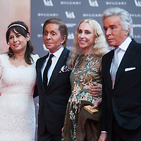 Red carpet at the Victoria &amp; Albert Museum for the opening of the &lsquo;The Glamour of Italian Fashion 1945-2014&rsquo; exhibition.<br />