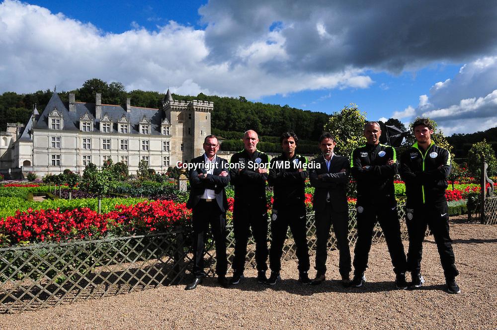 Staff Technique Tours - 22.09.2015 - Photo Officielle Tours <br /> Photo : Philippe Le Brech / Icon Sport