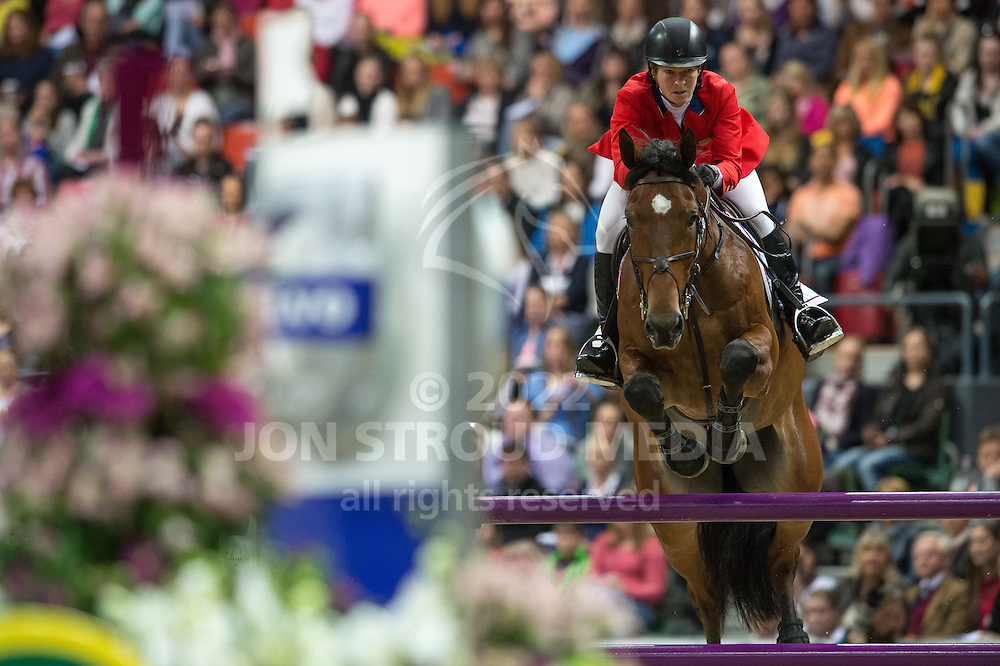 Beezie Madden (USA) & Simon - Rolex World Cup Jumping Final R3/1 - Gothenburg Horse Show 2013 - Scandinavium, Gothenburg, Sweden - 28 April 2013