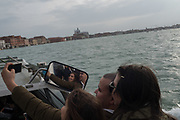 tourists in Venice, Venice Biennale,  Thursday11 May 2017