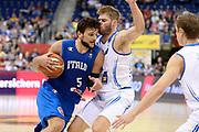 DESCRIZIONE : Berlino Berlin Eurobasket 2015 Group B Iceland Italy <br /> GIOCATORE : Alessandro Gentile<br /> CATEGORIA :Palleggio Penetrazione sequenza<br /> SQUADRA : Italy<br /> EVENTO : Eurobasket 2015 Group B <br /> GARA : Iceland Italy <br /> DATA : 06/09/2015 <br /> SPORT : Pallacanestro <br /> AUTORE : Agenzia Ciamillo-Castoria/Mancini Ivan<br /> Galleria : Eurobasket 2015 <br /> Fotonotizia : Berlino Berlin Eurobasket 2015 Group B Iceland Italy
