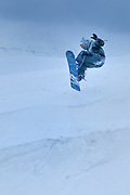 Snowboards are popular sport in Akureyri, Iceland