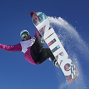 Aluan Ricciardi, France, in action during the Men's Half Pipe competition at the Burton New Zealand Open 2011 held at Cardrona Alpine Resort, Wanaka, New Zealand, 10th August 2011. Photo Tim Clayton