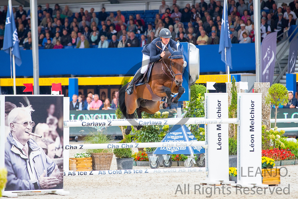 Philipp Schulze - Tornado VS<br /> FEI World Breeding Jumping Championships for Young Horses 2016<br /> © DigiShots