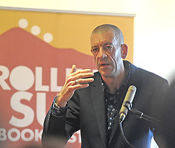 Diarmaid Ferriter historian and author reading from and discussing his new book On The Edge, Ireland's Offshore Islands, A Modern History at the Rolling Sun Book Festival.<br />