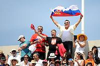 supporters Novak DJOKOVIC  - 07.06.2015 - Jour 15 - Finale   - Roland Garros 2015<br /> Photo : Nolwenn Le Gouic / Icon Sport