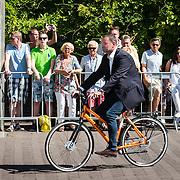 NLD/Den Haag/20160824 - Huldiging sport Rio 2016, beveiliger Richard van Vugt