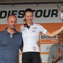 03-09-2017: Wielrennen: Boels Ladies Tour: Sittard: Demi de Jong beste jongere