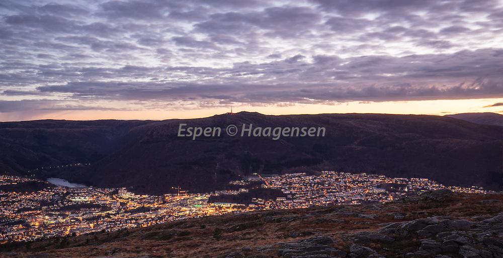 Morning from Løvstakken