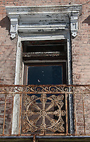 Historic Weathered Window in Over the Rhine