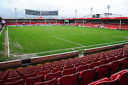 Besot Stadium, Walsall prior to the Sky Bet League 1 match between Walsall and Millwall at the Banks's Stadium, Walsall, England on 6 February 2016. Photo by Mike Sheridan.