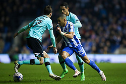 Liam Rosenior of Brighton & Hove Albion spirited run down the wing - Mandatory by-line: Jason Brown/JMP - 10/03/2017 - FOOTBALL - Amex Stadium - Brighton, England - Brighton and Hove Albion v Derby County - Sky Bet Championship