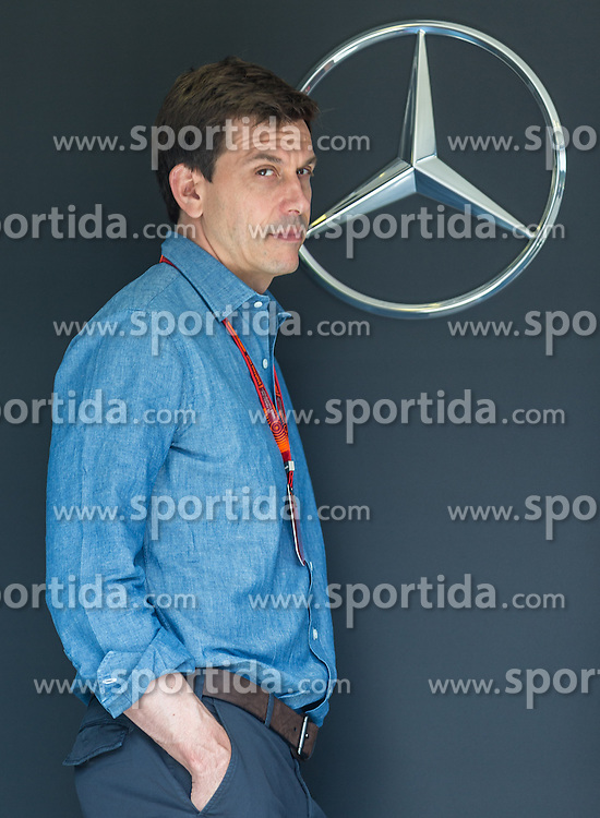 30.06.2016, Red Bull Ring, Spielberg, AUT, FIA, Formel 1, Grosser Preis von Österreich, Vorberichte, im Bild Teammanager Toto Wolff (AUT) Mercedes AMG Petronas F1 Team // Mercedes AMG F1 Director of Motorsport Toto Wolff (AUT) during the Preparation for the Austrian Formula One Grand Prix at the Red Bull Ring in Spielberg, Austria on 2016/06/30. EXPA Pictures © 2016, PhotoCredit: EXPA/ Dominik Angerer