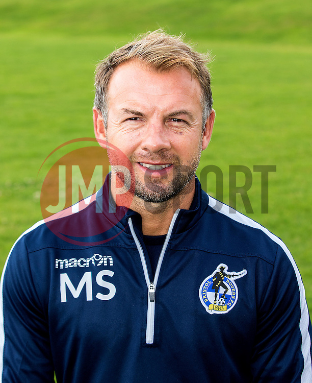 Marcus Stewart assistant manager of Bristol Rovers - Mandatory by-line: Robbie Stephenson/JMP - 04/08/2016 - FOOTBALL - The Lawns Training Ground - Bristol, England - Bristol Rovers Head Shots