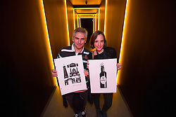Miguel Verdugo and Maite Pascuale from Madrid pictured at the Guinness Storehouse, celebrating talent and creativity on Arthur's Day 2013. Picture Andres Poveda