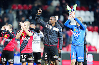 Joie Guingamp - 03.12.2014 - Guingamp / Caen - 16eme journee de Ligue 1 <br />Photo : Vincent Michel / Icon Sport