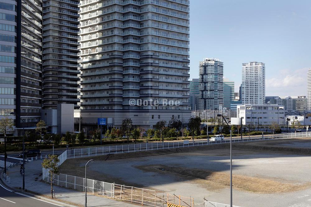 residential high rise buildings Yokohama Japan