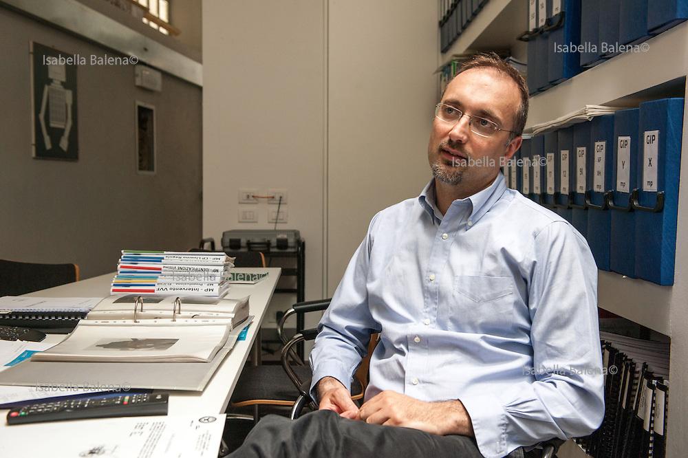 Moby Prince. Gabriele Bardazza, 44, dello Studio Bardazza-Adinolfi di ingegneria forense. Milano, Lombardia, Italia, Italy.