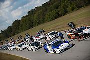 October 3-5, 2013. Lamborghini Super Trofeo - Virginia International Raceway. Grid for race 1 at VIR.