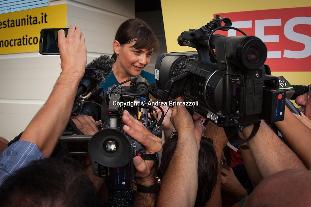 Bologna 27 Agosto 2014 - Inaugurazione Festa Nazionale de L'Unit&agrave;. Che storia, il futuro!<br /> Nella foto: Debora Serracchiani