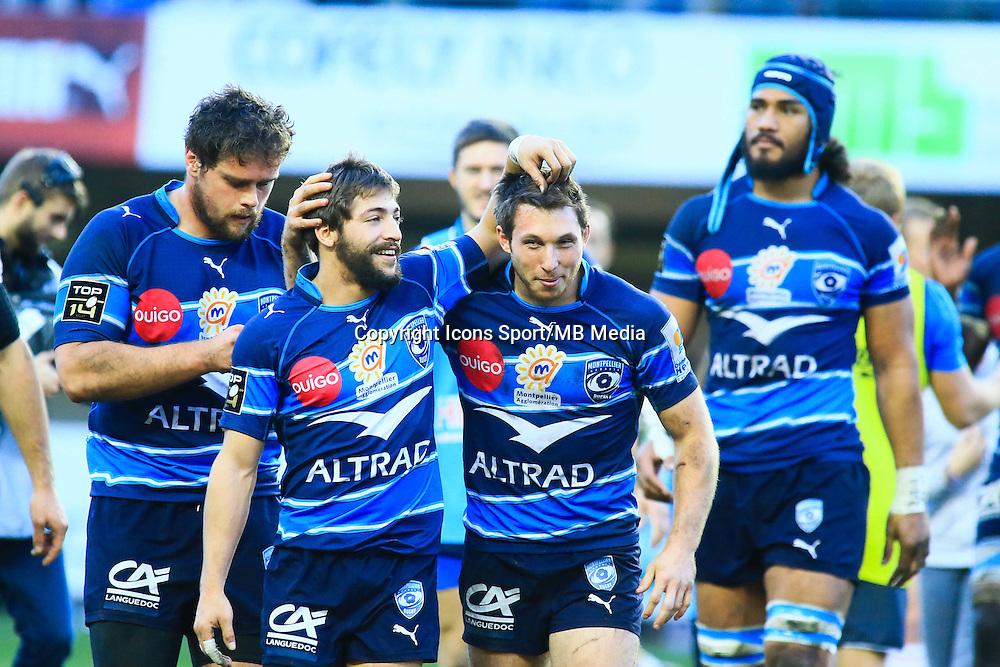 Joie Montpellier - 20.12.2014 - Montpellier / Stade Toulousain - 13eme journee de Top 14 -<br />Photo : Nicolas Guyonnet / Icon Sport