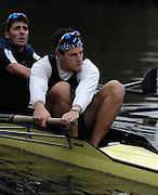 Oxford, GREAT BRITAIN, Adam KOSMICKI, training, on the River ISIS,  with the Oxford University Boat Club, OUBC, squad, ergo ENGLAND, 15/11/2006[Photo, Peter Spurrier/Intersport-images]..... Varsity:Boat Race