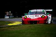 August 17-19 2018: IMSA Weathertech Michelin GT Challenge at VIR. 58 Wright Motorsports, Porsche 911 GT3 R, Patrick Long, Christina Nielsen