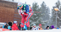 21.02.2016, Salpausselkae Stadion, Lahti, FIN, FIS Weltcup Langlauf, Lahti, Herren Skiathlon, im Bild Petter Jr. Northug (NOR) // Petter Jr. Northug of Norway competes during Mens Skiathlon FIS Cross Country World Cup, Lahti Ski Games at the Salpausselkae Stadium in Lahti, Finland on 2016/02/21. EXPA Pictures © 2016, PhotoCredit: EXPA/ JFK