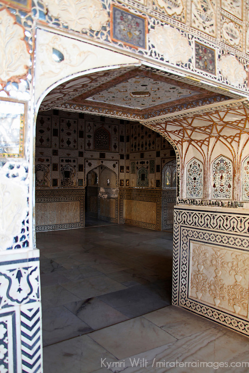 Asia, India, Amer. Arch at Amber Palace.