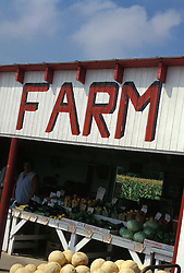Roadside farm market.