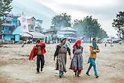 Kullu Dussehra is the Dussehra festival observed in the month of October in Himachal Pradesh state in northern India. It is celebrated in the Dhalpur maidan in the Kullu valley. Dussehra at Kullu commences on the tenth day of the rising moon, i.e. on 'Vijay Dashmi' day itself and continues for seven days. Its history dates back to the 17th century when local King Jagat Singh installed an idol of Raghunath on his throne as a mark of penance. After this, god Raghunath was declared as the ruling deity of the Valley. Hindu Festival of Kullu Dussehra in the Himalayan Town of Kullu, Himachal Pradesh