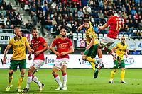 Alkmaar, 19-08-2017, AZ - ADO Den Haag, AZ speler Guus Til scoort hier de 2-0, doelpunt