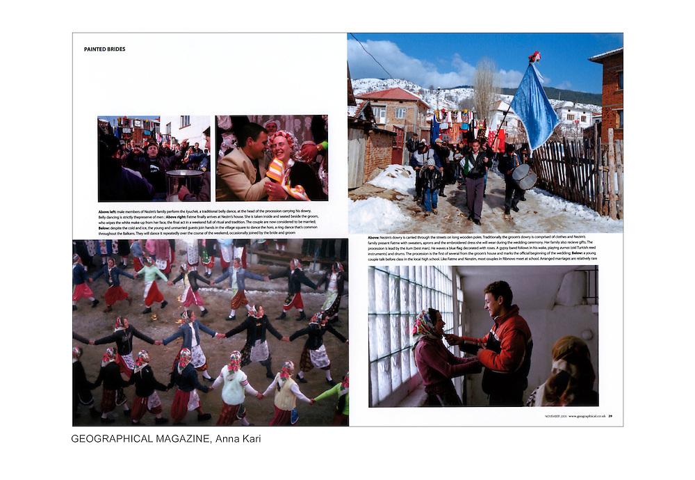 geographical magazine publication