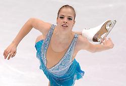 27.03.2010, Torino Palavela, Turin, ITA, ISU World Figure Skating Championships Turin 2010, Ladies free skating final, im Bild Carolina Kostner (ITA). EXPA Pictures © 2010, PhotoCredit: EXPA/ InsideFoto/ Perottino / SPORTIDA PHOTO AGENCY