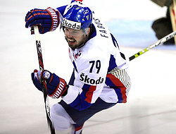 Peter Fabus of Slovakia at ice-hockey game Slovenia vs Slovakia at Relegation  Round (group G) of IIHF WC 2008 in Halifax, on May 09, 2008 in Metro Center, Halifax, Nova Scotia, Canada. Slovakia won 5:1. (Photo by Vid Ponikvar / Sportal Images)