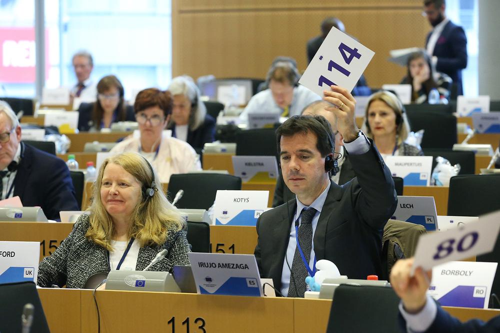 11 May 2017, 123rd Plenary Session of the European Committee of the Regions <br /> Belgium - Brussels - May 2017 <br /> <br /> Mr IRUJO AMEZAGA Mikel, Delegado del Gobierno de Navarra en Bruselas, Spain<br /> <br /> &copy; European Union / Patrick Mascart