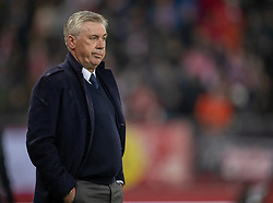 14.03.2019, Red Bull Arena, Salzburg, AUT, UEFA EL, FC Red Bull Salzburg vs SSC Napoli, Achtelfinale, Rückspiel, im Bild Trainer Carlo Ancelotti (SSC Napoli) // during the UEFA Europa League round of 16, 2nd leg match between FC Red Bull Salzburg and SSC Napoli at the Red Bull Arena in Salzburg, Austria on 2019/03/14. EXPA Pictures © 2019, PhotoCredit: EXPA/ Johann Groder