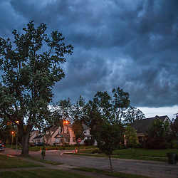 Storm clouds over Eastgate Monday July 14th, 2014 in Columbus, Ohio. (Christina Paolucci, photographer)
