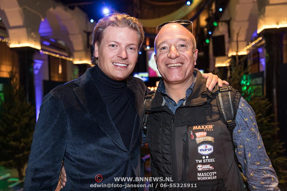 NLD/Amsterdam/20191206 - Sky Radio's Christmas Tree For Charity 2019, Thomas Berge en Tom Coronel