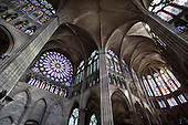 Abbey Church Of Saint Denis, France