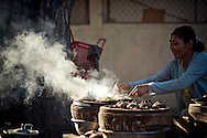 Street food in Cam Ranh, Vietnam, Southeast Asia
