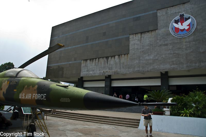 The War Museum in Old Saigon (Ho Chi Minh City) in Viet Nam is a sobering showcase of the war that took place in the 1960s and 1970s.