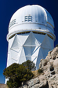Telescope at Kit Peak National Observatory, Tohono O'odham Indian Reservation, Arizona USA